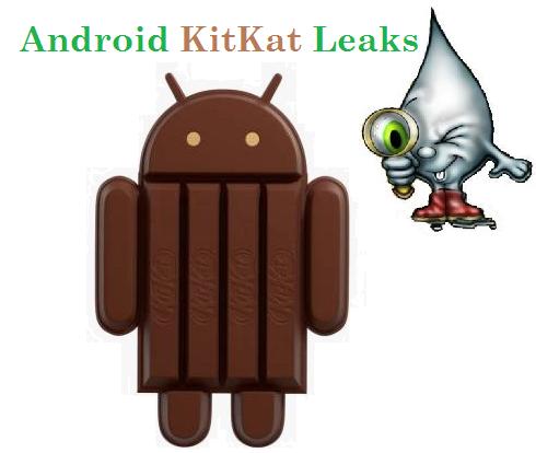 Android Kitkat Leak