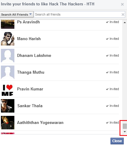 Facebook extension