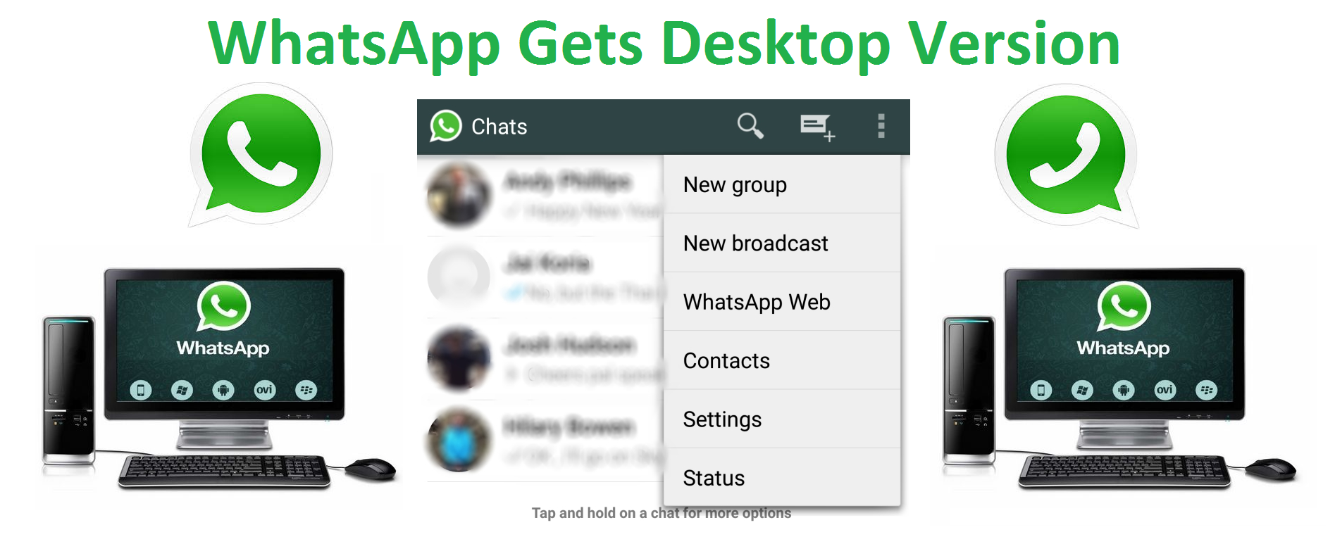 WhatsApp Gets Desktop Version