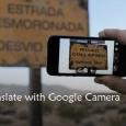 translate with google camera