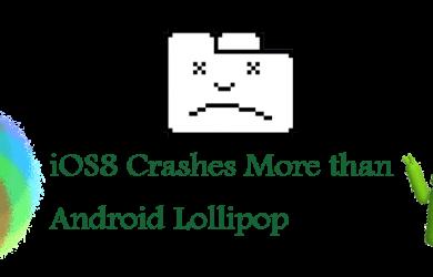 IOS8 crashes more