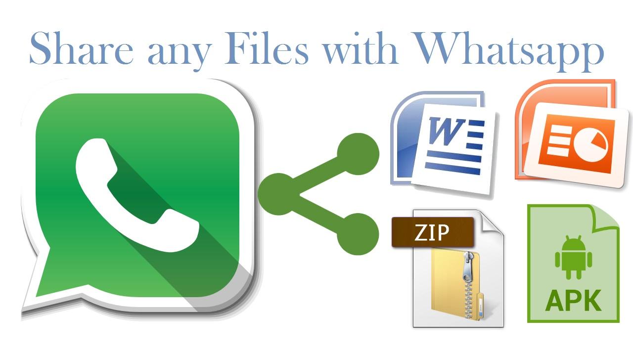 share files in whatsapp
