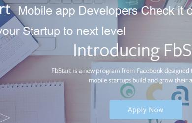 fbstart for mobile app developers