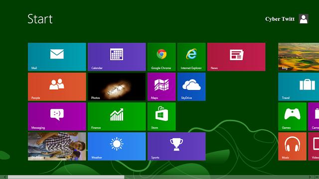 Windows 8 Start Screen in other Windows OS